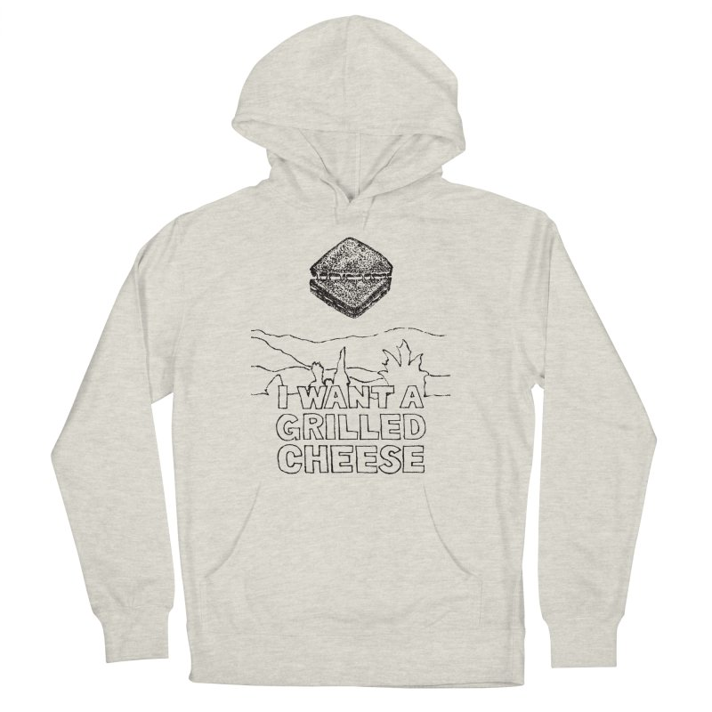 Mulder's Muenster Munchies Men's French Terry Pullover Hoody by Bud Made
