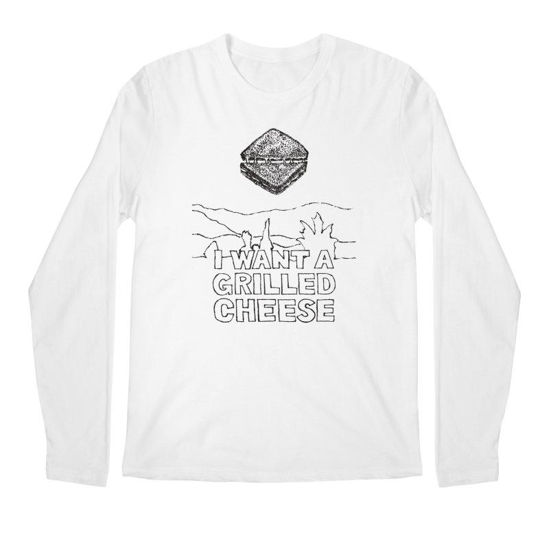 Mulder's Muenster Munchies Men's Regular Longsleeve T-Shirt by Bud Made