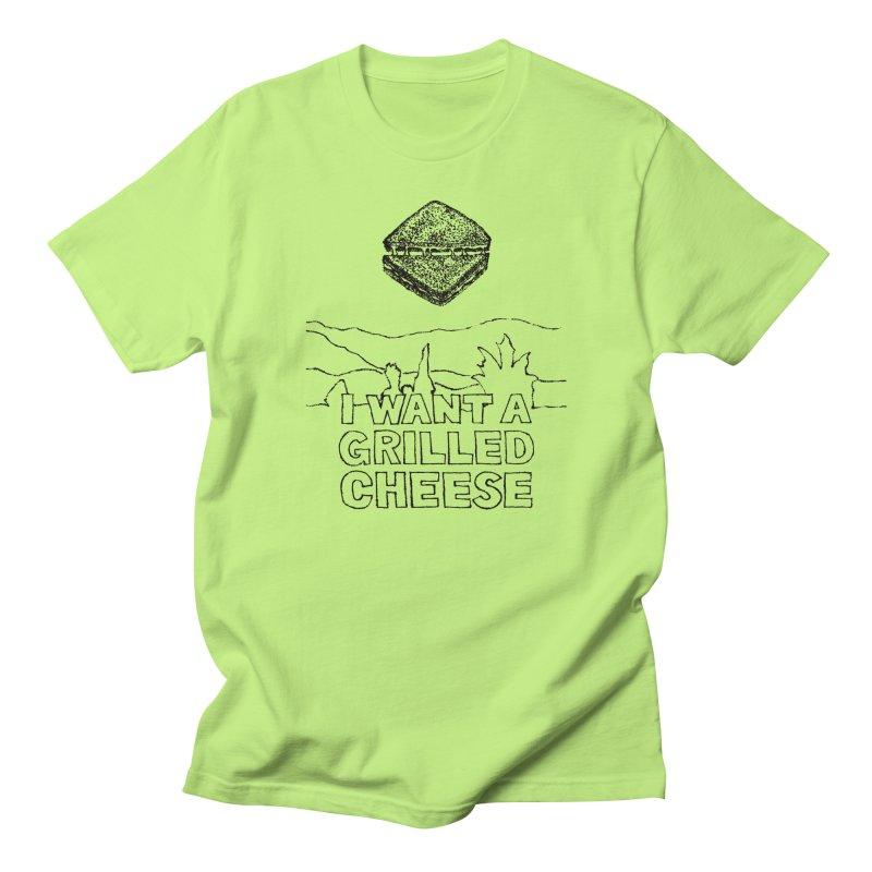 Mulder's Muenster Munchies Men's Regular T-Shirt by Bud Made
