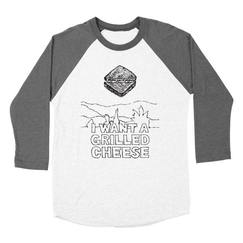 Mulder's Muenster Munchies Women's Baseball Triblend Longsleeve T-Shirt by Bud Made