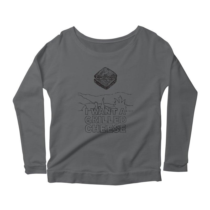 Mulder's Muenster Munchies Women's Scoop Neck Longsleeve T-Shirt by Bud Made