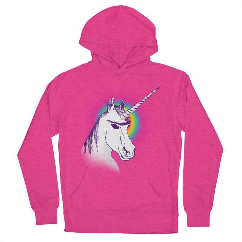 The Unibrowcorn Women's Pullover Hoody by Bud Made