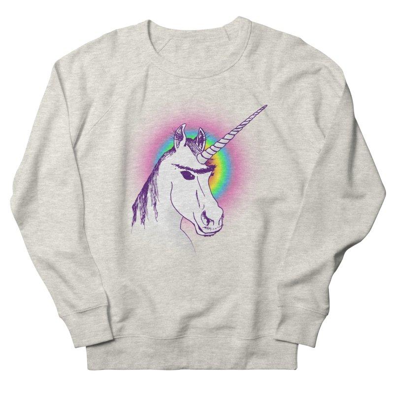 The Unibrowcorn Women's Sweatshirt by Bud Made