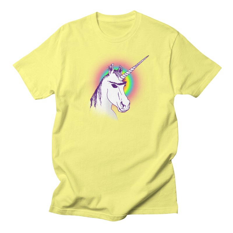 The Unibrowcorn Men's Regular T-Shirt by Bud Made