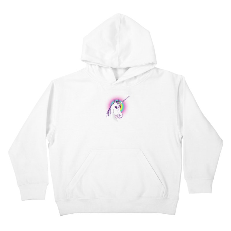 The Unibrowcorn Kids Pullover Hoody by Bud Made