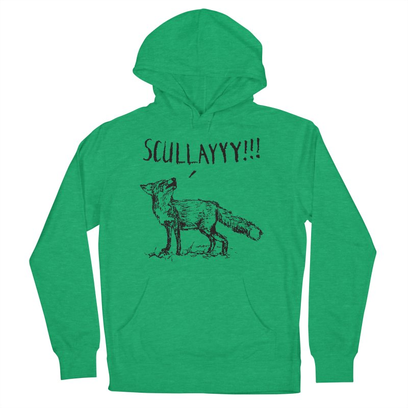What a Certain Fox Says Men's Pullover Hoody by Bud Made