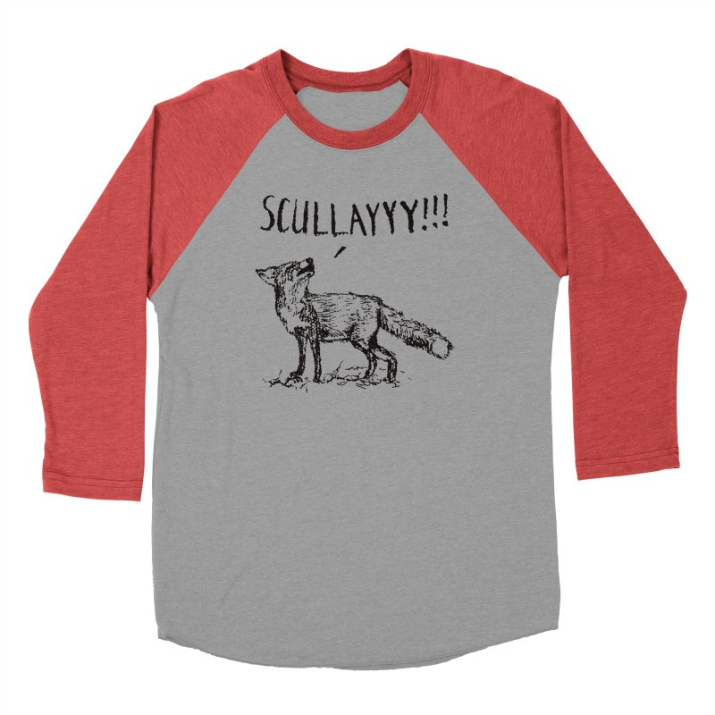 What a Certain Fox Says Women's Baseball Triblend Longsleeve T-Shirt by Bud Made