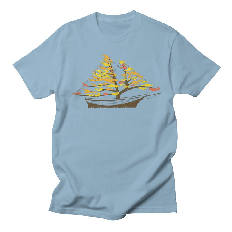 Autumn Cruise Men's Regular T-Shirt by Bud Made