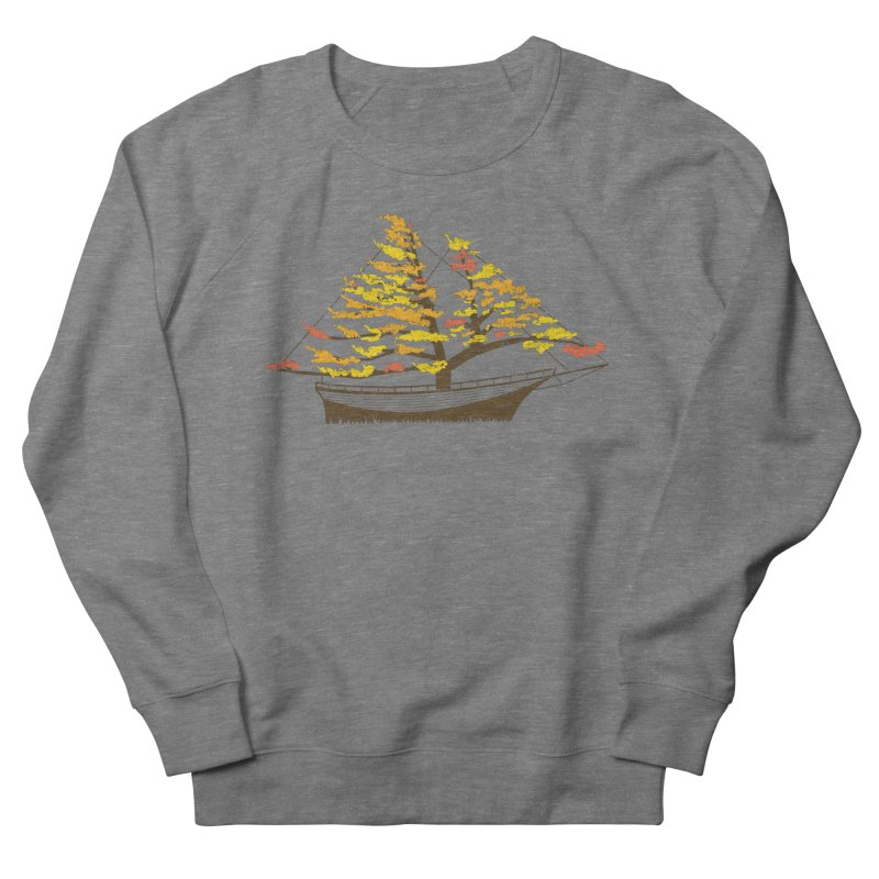 Autumn Cruise Men's French Terry Sweatshirt by Bud Made