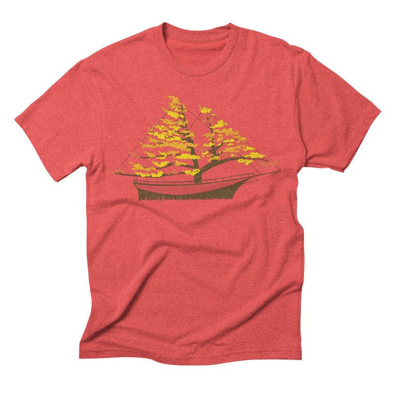 Autumn Cruise Men's Triblend T-shirt by Bud Made