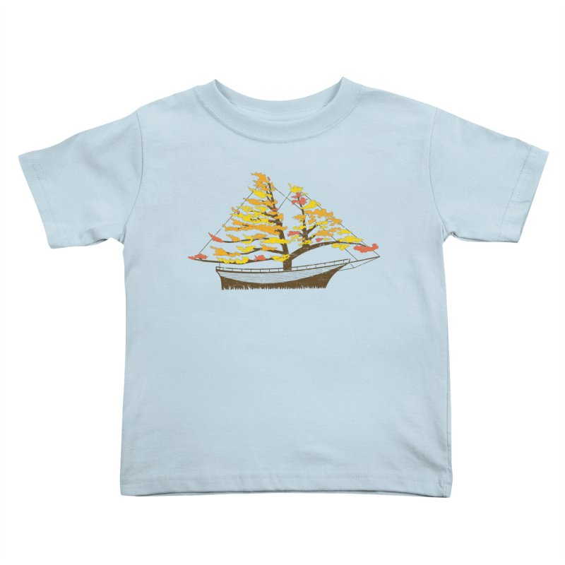 Autumn Cruise Kids Toddler T-Shirt by Bud Made