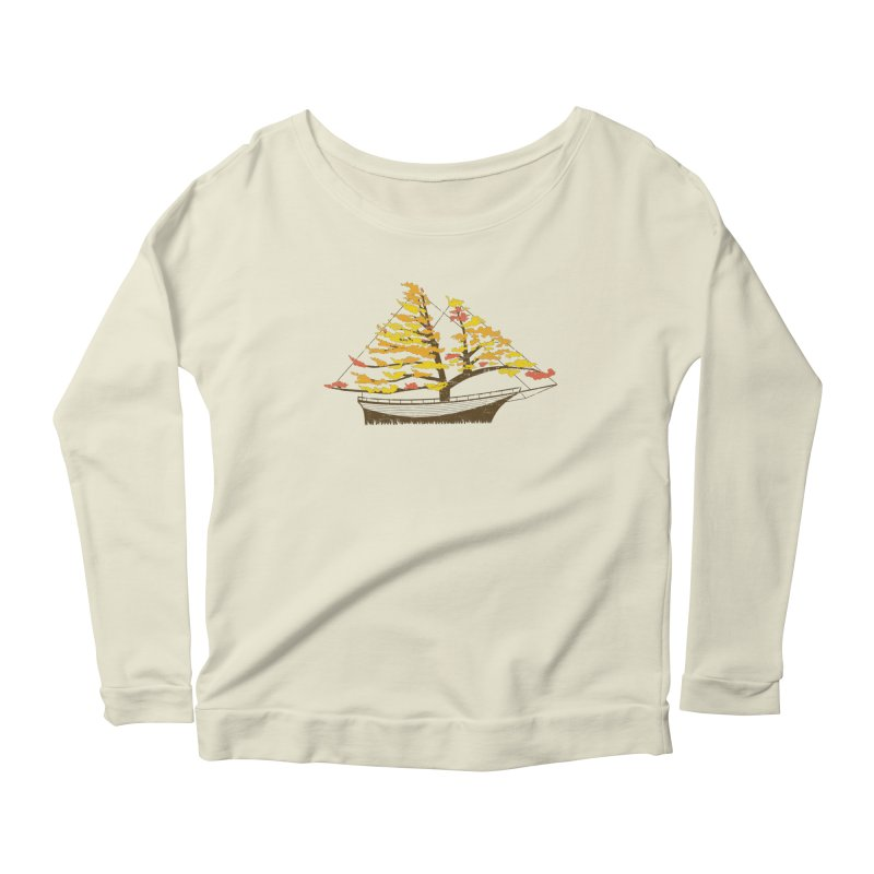 Autumn Cruise Women's Longsleeve Scoopneck  by Bud Made