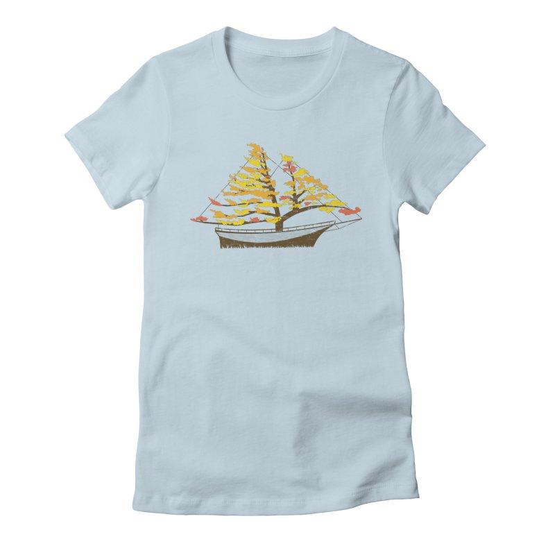 Autumn Cruise Women's T-Shirt by Bud Made