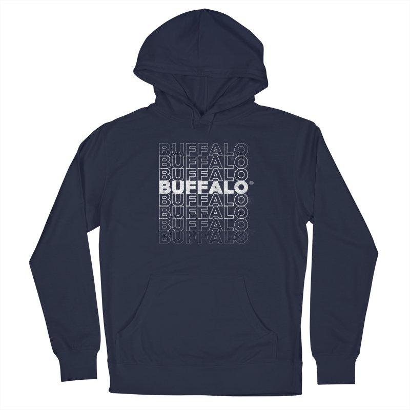 Buffalo Buffalo Retro Women's Pullover Hoody by Buffalo Buffalo Buffalo