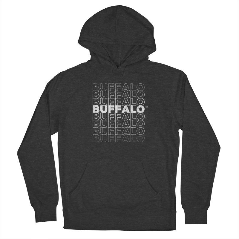 Buffalo Buffalo Retro Men's French Terry Pullover Hoody by Buffalo Buffalo Buffalo