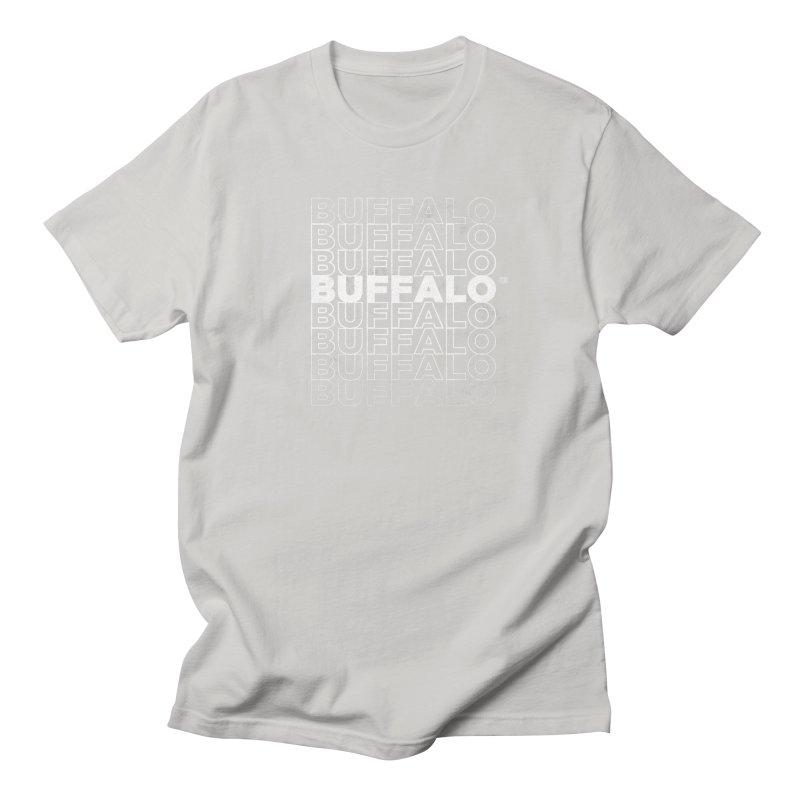 Buffalo Buffalo Retro Men's T-shirt by Buffalo Buffalo Buffalo