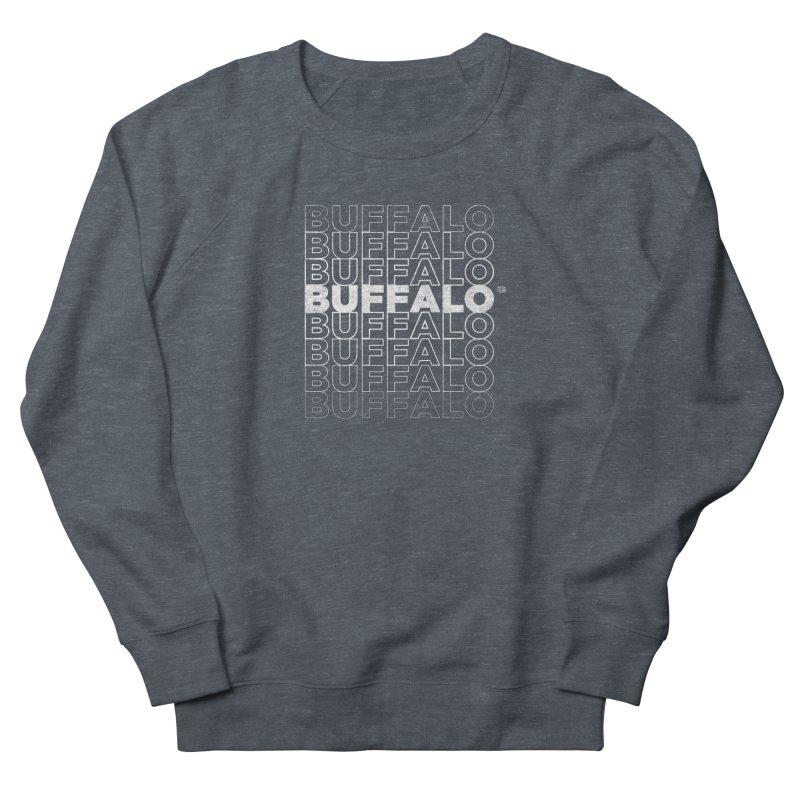 Buffalo Buffalo Retro Men's Sweatshirt by Buffalo Buffalo Buffalo