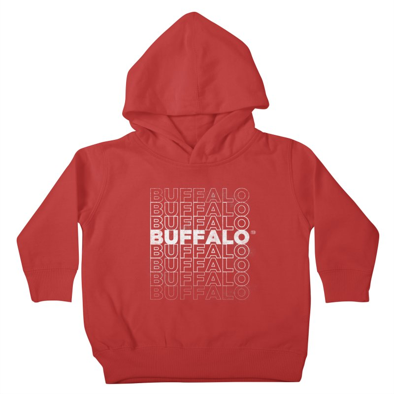 Buffalo Buffalo Retro Kids Toddler Pullover Hoody by Buffalo Buffalo Buffalo