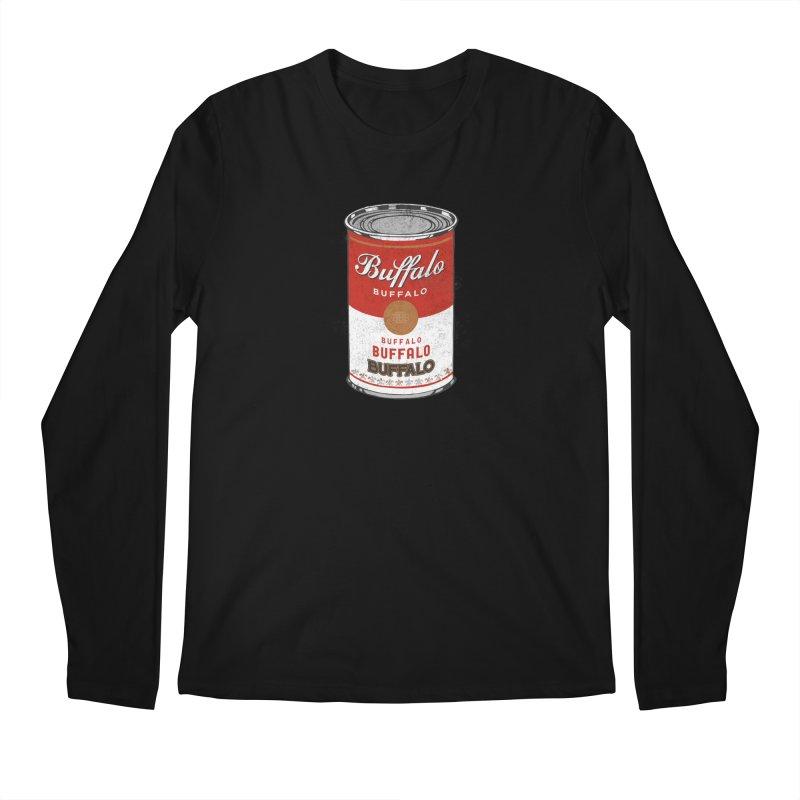 Buffalo Buffalo Soup Men's Longsleeve T-Shirt by Buffalo Buffalo Buffalo