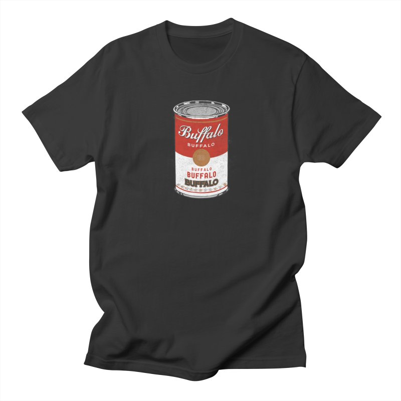Buffalo Buffalo Soup Men's Regular T-Shirt by Buffalo Buffalo Buffalo