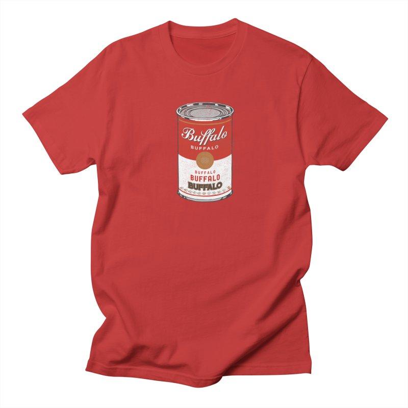 Buffalo Buffalo Soup Men's T-Shirt by Buffalo Buffalo Buffalo