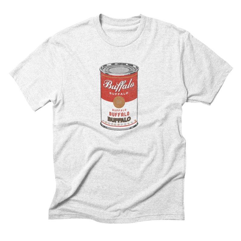 Buffalo Buffalo Soup Men's Triblend T-shirt by Buffalo Buffalo Buffalo