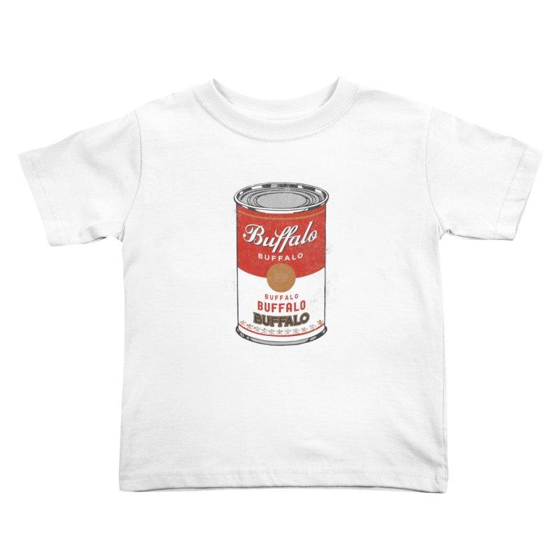 Buffalo Buffalo Soup Kids Toddler T-Shirt by Buffalo Buffalo Buffalo