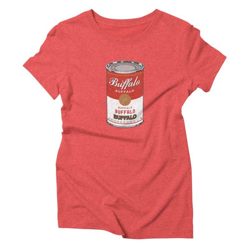 Buffalo Buffalo Soup Women's Triblend T-shirt by Buffalo Buffalo Buffalo