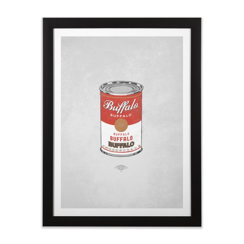 Buffalo Buffalo Soup Home Framed Fine Art Print by Buffalo Buffalo Buffalo