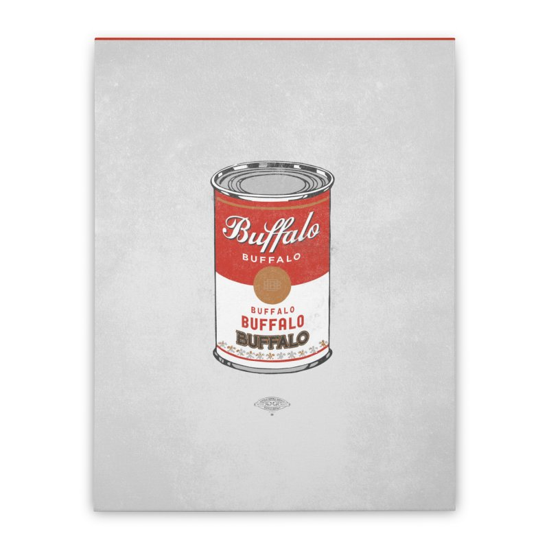 Buffalo Buffalo Soup Home Stretched Canvas by Buffalo Buffalo Buffalo