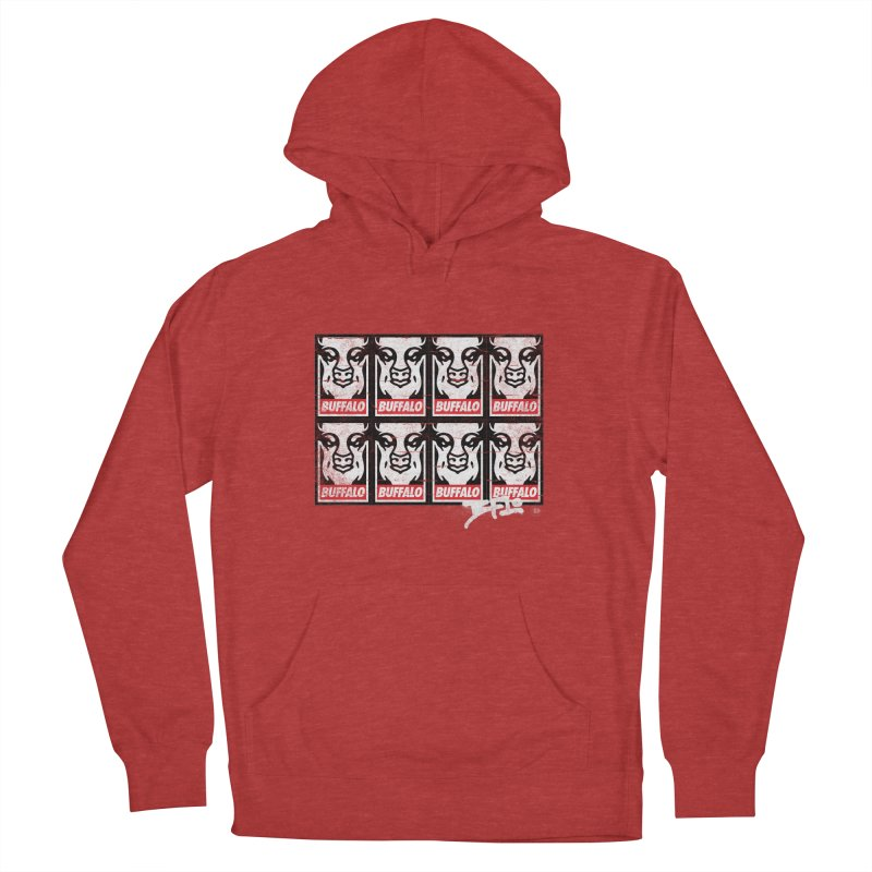 Obey Obey the Buffalo Buffalo Men's Pullover Hoody by Buffalo Buffalo Buffalo