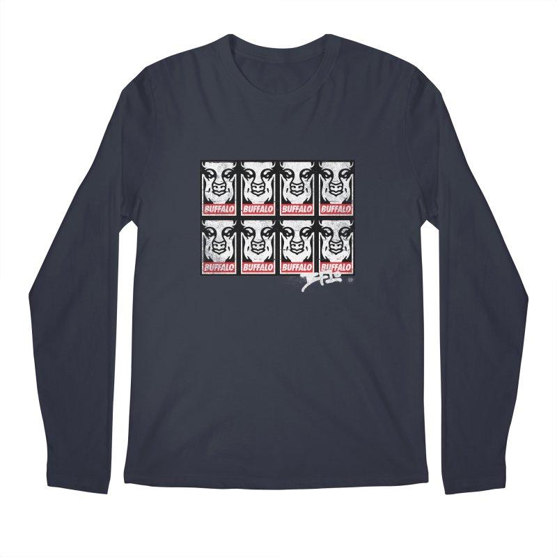 Obey Obey the Buffalo Buffalo Men's Longsleeve T-Shirt by Buffalo Buffalo Buffalo