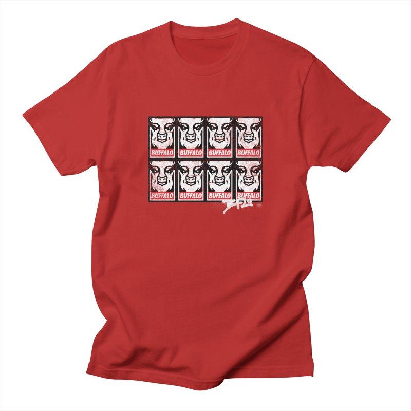 Obey Obey the Buffalo Buffalo Men's T-shirt by Buffalo Buffalo Buffalo
