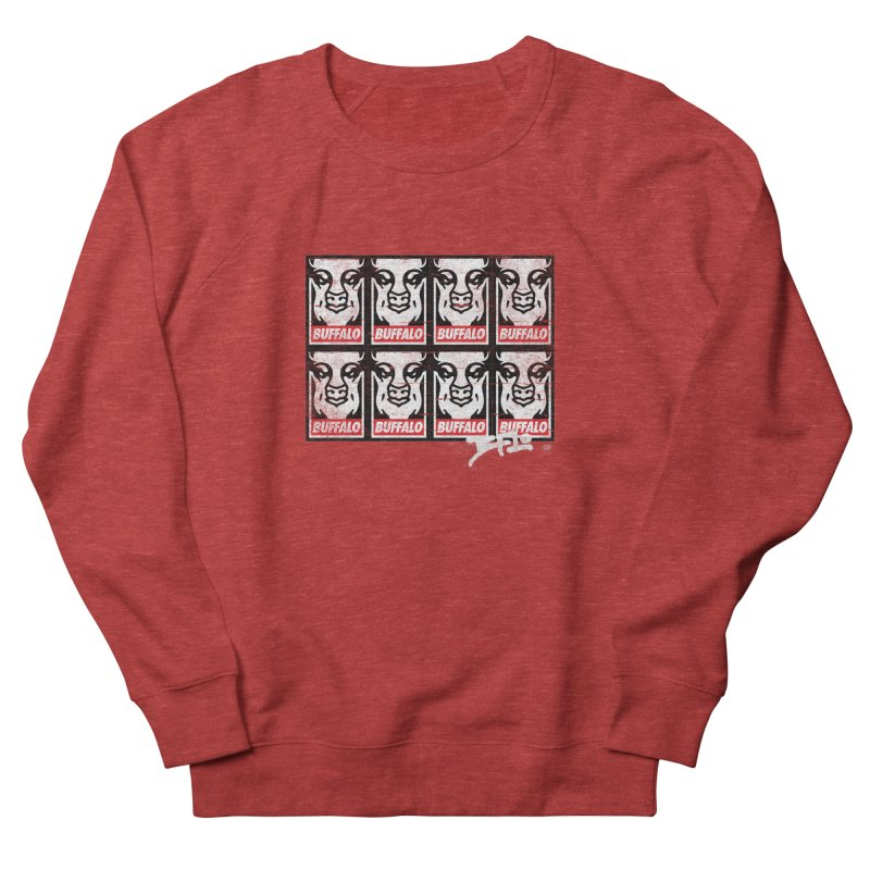 Obey Obey the Buffalo Buffalo Men's Sweatshirt by Buffalo Buffalo Buffalo