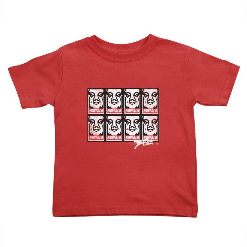 Obey Obey the Buffalo Buffalo Kids Toddler T-Shirt by Buffalo Buffalo Buffalo