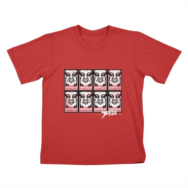 Obey Obey the Buffalo Buffalo Kids T-shirt by Buffalo Buffalo Buffalo