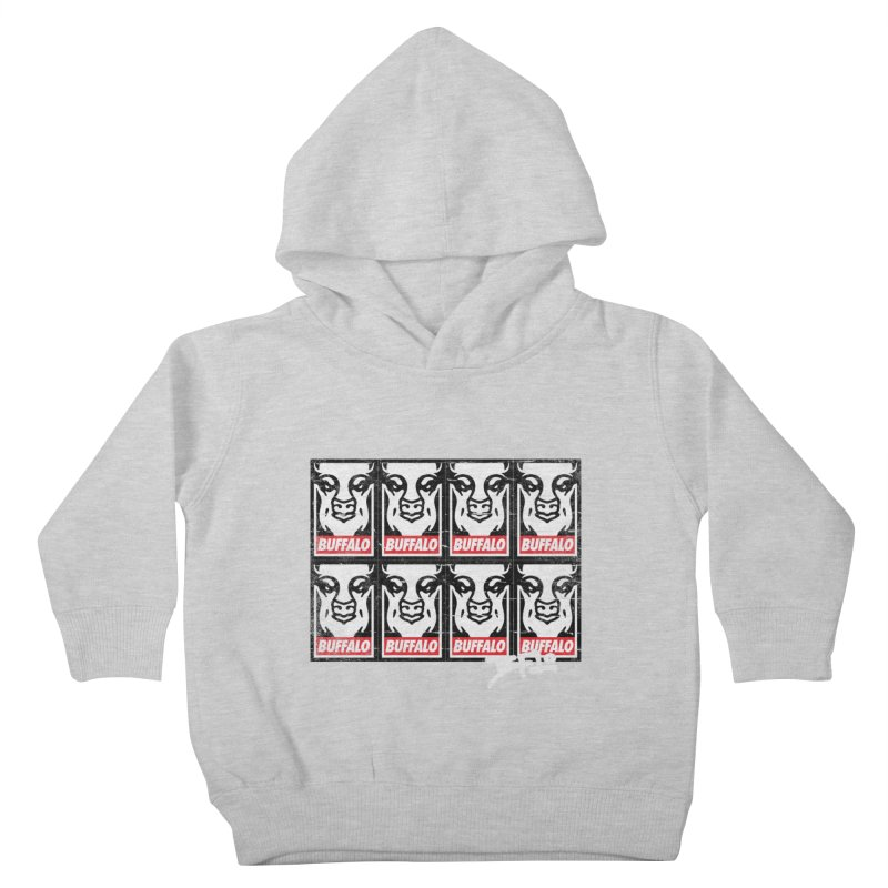 Obey Obey the Buffalo Buffalo Kids Toddler Pullover Hoody by Buffalo Buffalo Buffalo