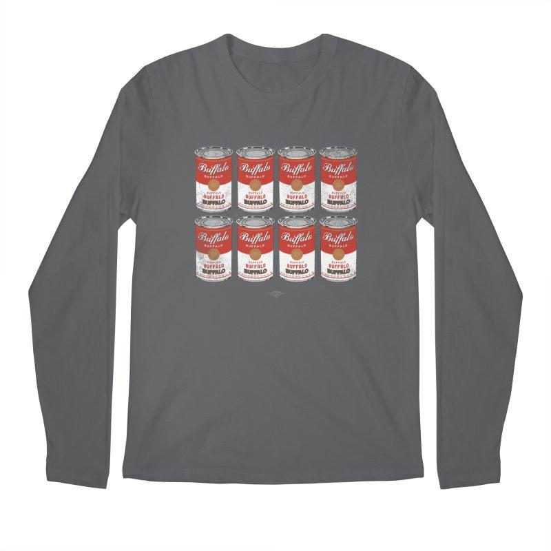 Buffalo Buffalo Soups Men's Longsleeve T-Shirt by Buffalo Buffalo Buffalo