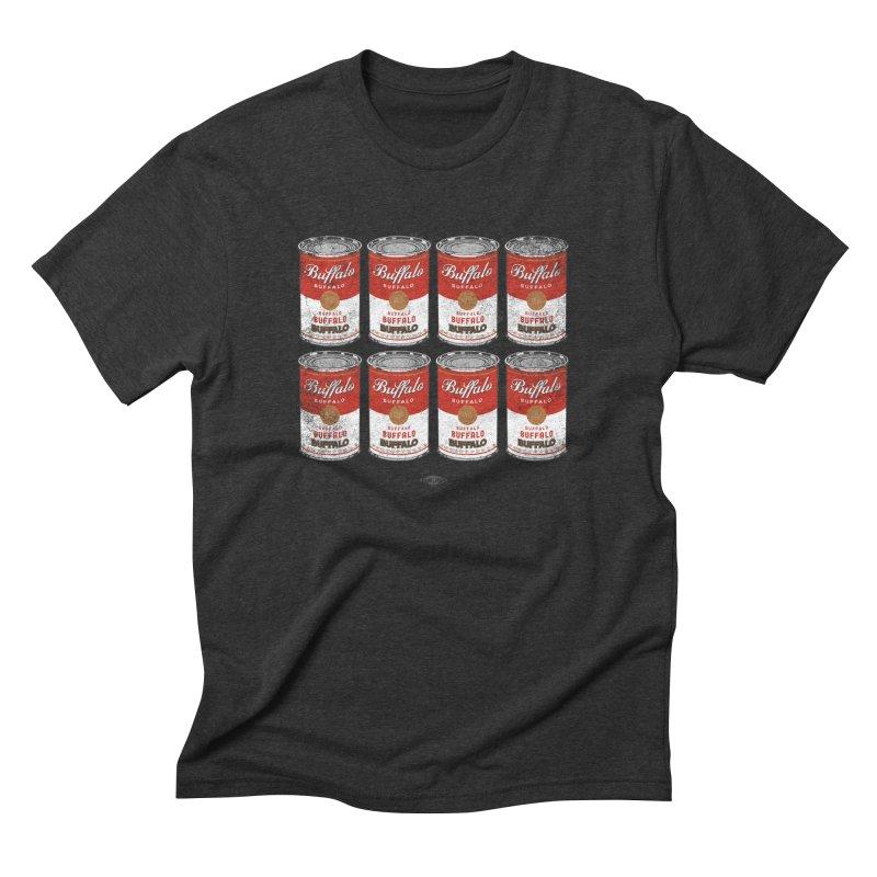 Buffalo Buffalo Soups Men's Triblend T-Shirt by Buffalo Buffalo Buffalo