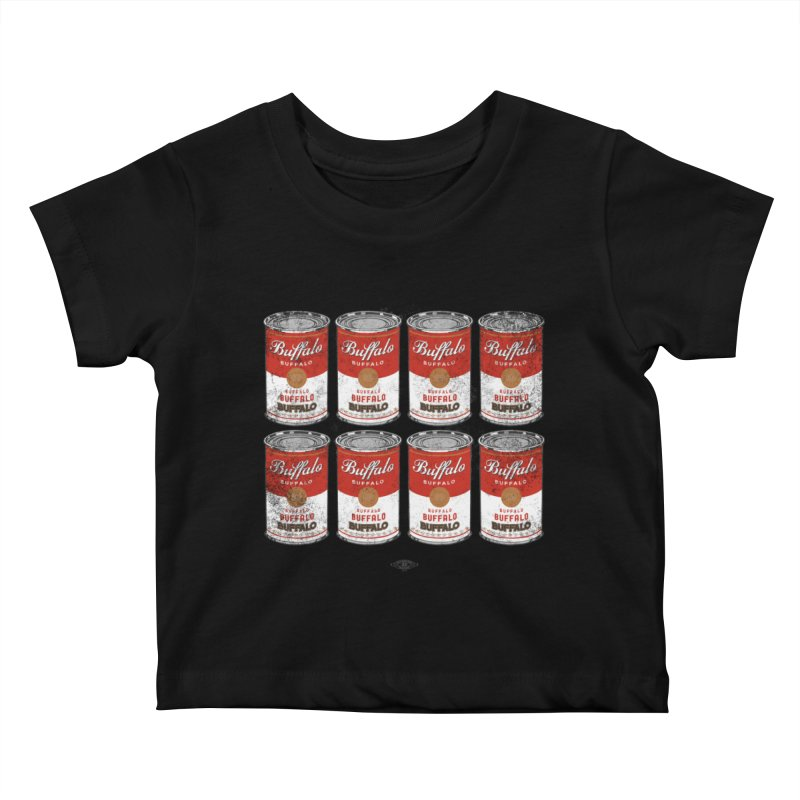 Buffalo Buffalo Soups Kids Baby T-Shirt by Buffalo Buffalo Buffalo
