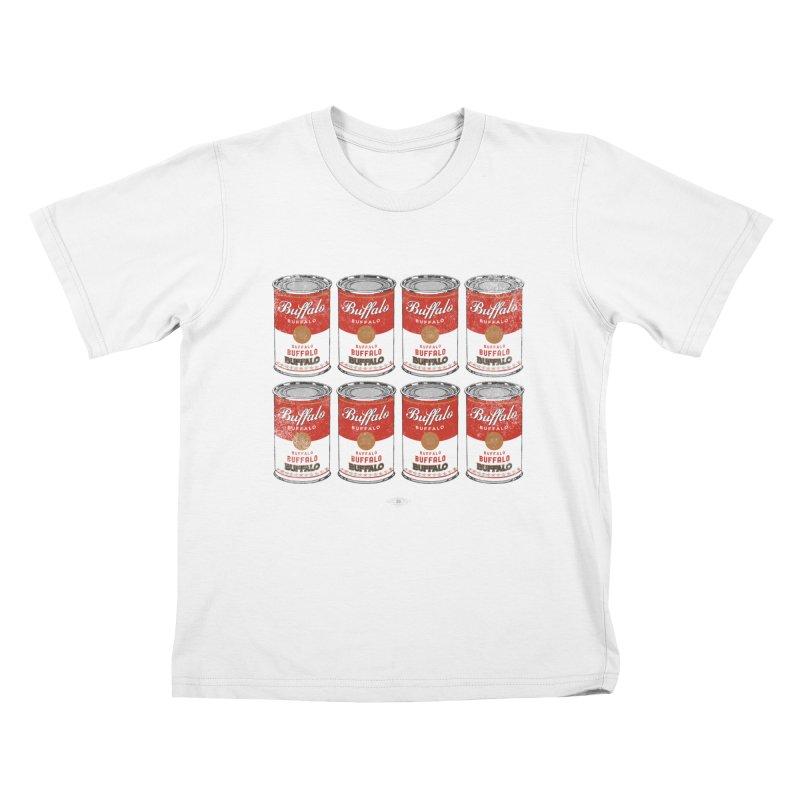 Buffalo Buffalo Soups Kids T-shirt by Buffalo Buffalo Buffalo