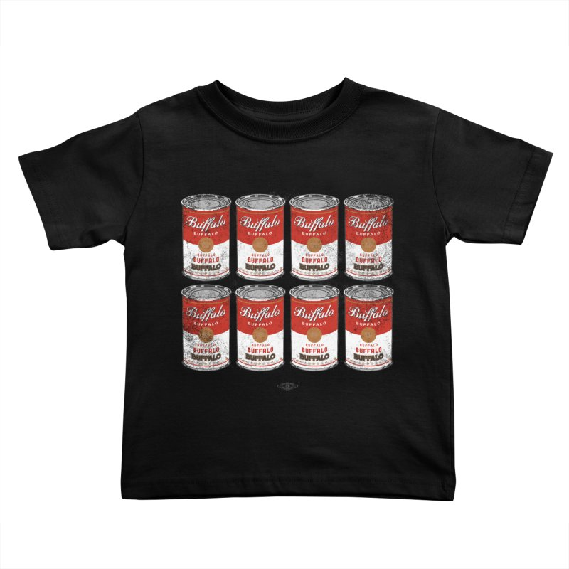 Buffalo Buffalo Soups Kids Toddler T-Shirt by Buffalo Buffalo Buffalo