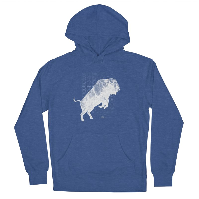 Buffalo Buffalo Bison Women's French Terry Pullover Hoody by Buffalo Buffalo Buffalo