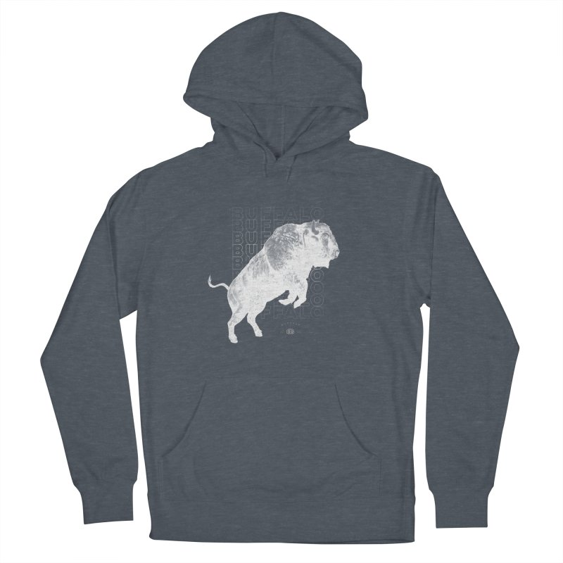 Buffalo Buffalo Bison Men's Pullover Hoody by Buffalo Buffalo Buffalo