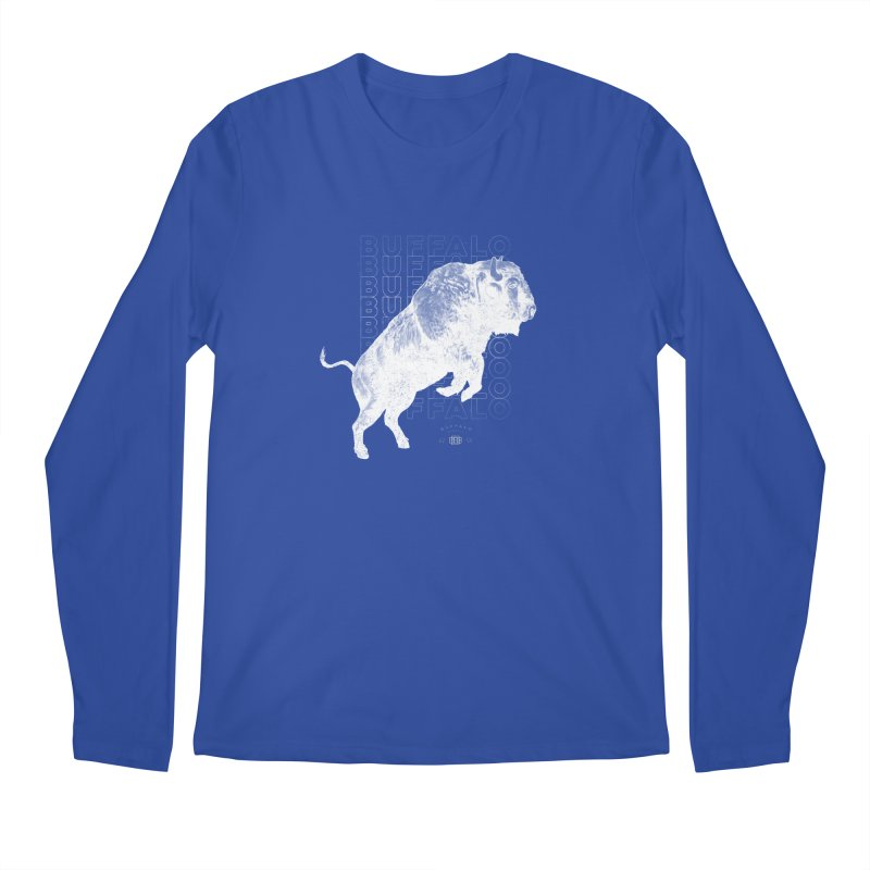 Buffalo Buffalo Bison Men's Longsleeve T-Shirt by Buffalo Buffalo Buffalo