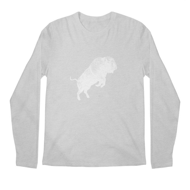 Buffalo Buffalo Bison Men's Longsleeve T-Shirt by Buffalo Buffalo Buffalo
