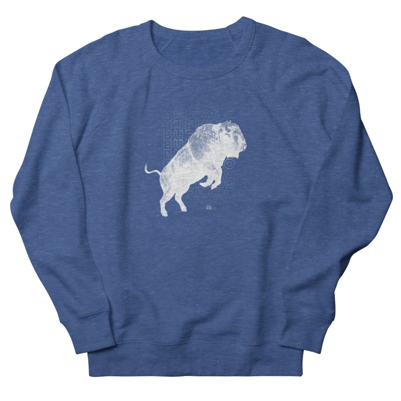 Buffalo Buffalo Bison Women's Sweatshirt by Buffalo Buffalo Buffalo