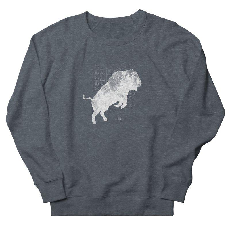 Buffalo Buffalo Bison Women's Sweatshirt by Buffalo Buffalo Buffalo