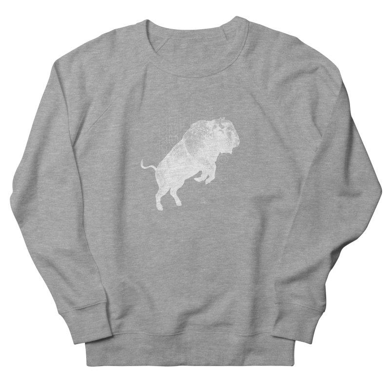 Buffalo Buffalo Bison Men's Sweatshirt by Buffalo Buffalo Buffalo