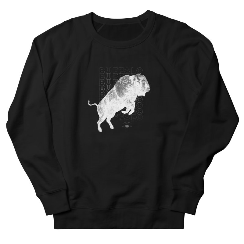 Buffalo Buffalo Bison Men's Sweatshirt by Buffalo Buffalo Buffalo